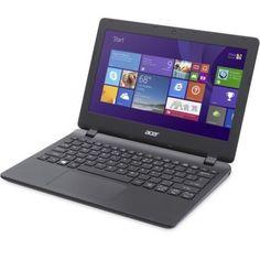 "Лаптоп Acer Aspire ES1-131 (NX.MYGEX.015)(Черен), дву-ядрен Broadwell Intel Celeron N3050 1.6/2.16 GHz, 11.6"" (29.46 cm) HD LED Display (HDMI), 2GB, 32GB eMMC, UBS 3.0, Windows 10, 1.25kg. https://profitshare.bg/l/202292"