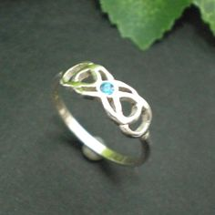 Double Infinity Ring, love love