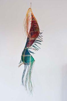 Flax Weaving, Basket Weaving, Maori Art, Weaving Techniques, Wall Hangings, Rattan, Art Gallery, Textiles, Culture
