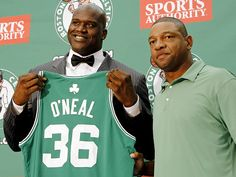 shaq + doc rivers