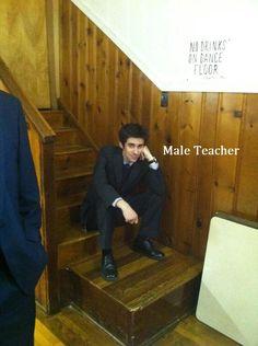 I am a Male Teacher. Male Teachers