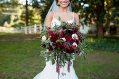 The Bouqs Co. Boho inspired Bridal Bouquet