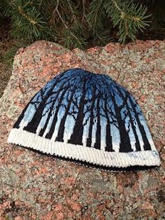 """A beanie inspired by a Game of Thrones. Worked in fair isle and sized for about a 22"""" head."""
