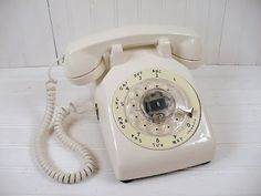 All of a sudden you realize your true age because you remember using the rotary phone...