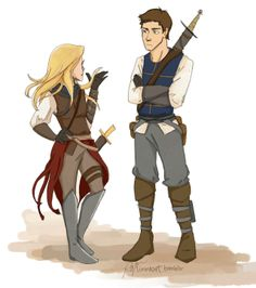 Another AMAAAAZING bit of Celaena-Chaol fan-art by Linnea! Wahhhh! http://linneart.tumblr.com/image/42528371064#