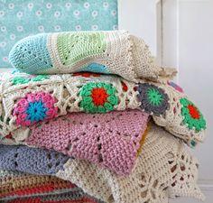 Mejores 1374 Imagenes De Mantas Granny En Pinterest En 2018 Yarns - Mantas-bonitas