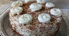 Tort Milchmadchen Vanilla Cake, Desserts, Food, Drinks, Kitchens, Tailgate Desserts, Deserts, Meal, Eten