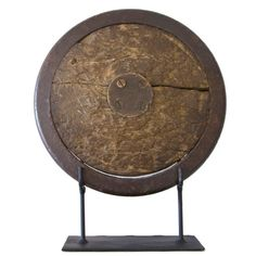 Vintage Gill Discus on Museum Mount | From a unique collection of antique and modern sports at http://www.1stdibs.com/furniture/more-furniture-collectibles/sports/