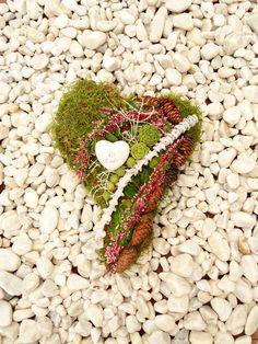 Grabgestecke Allerheiligen Gestecke Urnengrab Herz von Missbellflower auf DaWanda.com