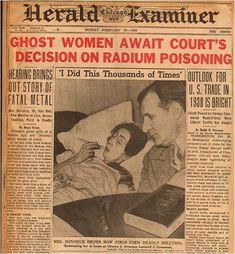 radium girl                                                                                                                                                      More