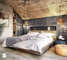 modern Bedroom photos by razoo-architekci Master Bedroom Design, Home Bedroom, Modern Bedroom, Bedroom Decor, Stylish Bedroom, Contemporary Bedroom, Bedroom Designs, Bedroom Ideas, Bedroom Photos