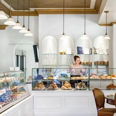 (What we love: named one of Buzz Feed's top bakeries in the world, they also have their own baking-goods store attached to it, with the best supplies). Bakery Store, Vintage Bakery, Baking Supply Store, Bakery Kitchen, Baking Supplies, House Made, Business Goals, Dishes, Dream Houses