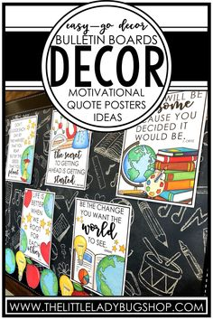 Are you a teacher who is looking for bulletin board inspiration to get your classroom ready for back to school? Find tons of theme ideas, including school, farmhouse, camping, tropical, beach, and many more! These beautiful inspirational bulletin board themes will make your classroom or school a place of positivity. These ideas will encourage growth mindset, perseverance, teamwork, kindness, and more! Download FREE all are welcome posters, too! #thelittleladybugshop