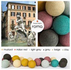 Happy Lights Favoriet - Roma. Verkrijgbaar @ www.zinaantafel.nl