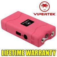 VIPERTEK Mini STUN GUN - 35 Million Volt - Bonus Rechargeable LED Flashlight