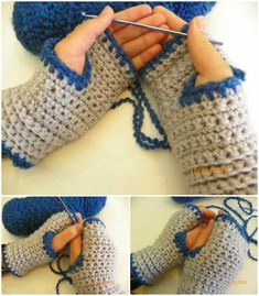 Cozy Crochet Finger-less Gloves Pattern - 54 Free Crochet Fingerless Gloves Pattern for Beginners - DIY & Crafts