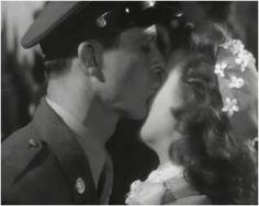 Kisses! Dana Andrews and Susan Hayward; MY FOOLISH HEART (1949)  yes i am terribly jealous ;)
