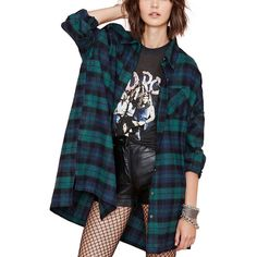 Step Hem Boyfriend Oversized Plaid Shirt ($27) ❤ liked on Polyvore featuring tops, dolls, flannel, blue, babydoll shirt, boyfriend shirt, flannel shirts, oversized flannel shirt and blue top