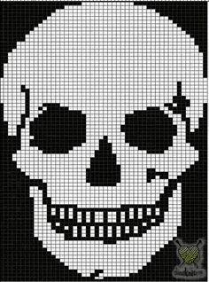 Cross Stitch Skull, Cute Cross Stitch, Cross Stitch Kits, Cross Stitch Designs, Cross Stitch Patterns, Quilt Patterns, Bead Crochet Rope, Crochet Cross, Freeform Crochet