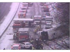 Winter Storm Mars: Casino Bus Crash On I -95 in Connecticut Results in Injuries to Dozens, and Six in Critical Condition | 코리일보 | CoreeILBO