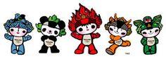 Mascotes - Pequim 2008