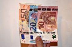 Planning a trip to Europe? Read out Ultimate Guide to Managing Money in Europe to learn Tips for Using Foreign Currency & Saving Money! Packing For Europe, Travel Around Europe, Backpack Through Europe, Respite Care, Budget Travel, Travel Ideas, Travel Tips, What To Pack, Travel Information