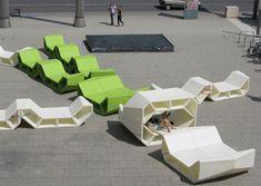 Enzo Outdoor Furniture #renew #urbandesign #furniture