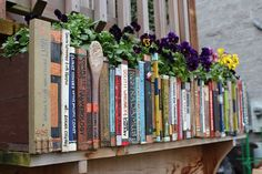 The Art Of Up-Cycling: Book Planter Ideas - Create Stunning Book Planters - Inspiring Random Book Ideas