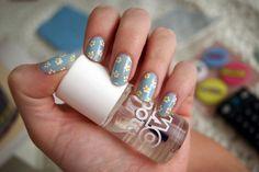 Jarní vzory na nehty - inspirace