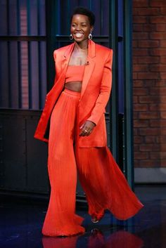Lupita Nyong'o owned the 2014 Awards Season red carpet but her fash-takeover is continuing apace. Click on to see the 12 Years A Slave actress' best fashion and beauty moments so far. We predict big things for this style savvy newcomer.