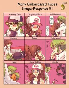 Many Embarassed Faces Image-Response 9! by ~Sin-D-Hellian on deviantART