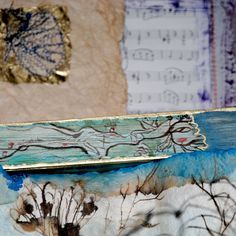 """Libro d'artista """"Amabili frammenti"""" il Grande Fiume"""
