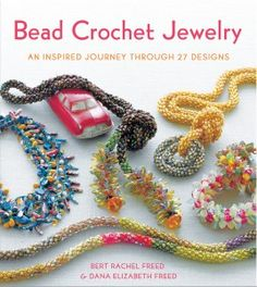The authors, mother and daughter, take the crocheter step by step through all the information need to be successful with bead crochet.