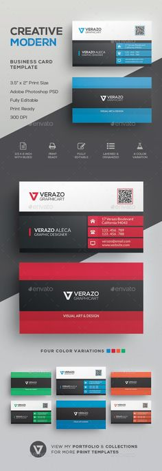 Buy Corporate Business Card 07 by verazo on GraphicRiver. Corporate Business Card Template A highly versatile business card template that is designed for both corporate busine. High Quality Business Cards, Buy Business Cards, Company Business Cards, Business Card Maker, Letterpress Business Cards, Unique Business Cards, Corporate Business, Business Card Design, Business Templates