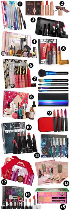 15 of the best holiday makeup sets of 2015. http://beautyeditor.ca/2015/11/13/holiday-beauty-gift-sets-2015