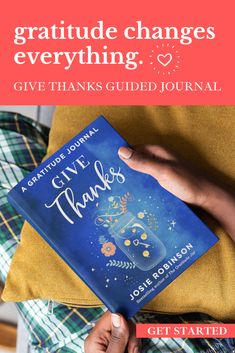 Become your most whole joyful self each day with this beautiful guided gratitude journal. Grab a copy for a friend and share the journey together!