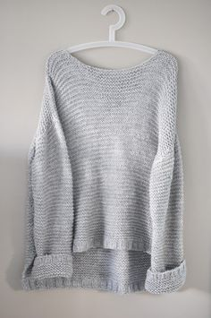 Diy knit skappelgenser