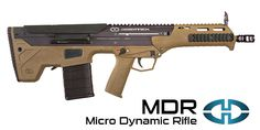 Desert Tech MDR This one is too expensive to be considered practical, but if money were no object than this would be my defensive rifle of choice! - as long as it proves reliable.