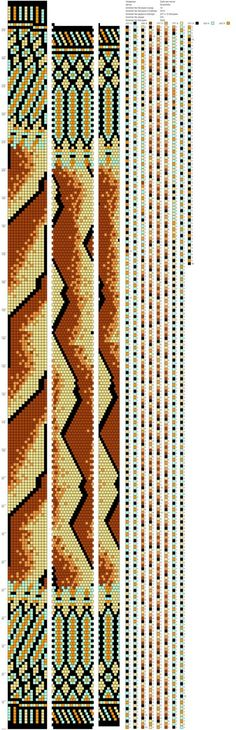 14 around tubular bead crochet rope pattern Bead Crochet Patterns, Bead Crochet Rope, Peyote Patterns, Loom Patterns, Beading Patterns, Beaded Crochet, Geometric Patterns, Tapestry Crochet, Beaded Jewelry