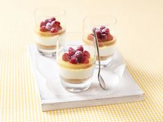 Lemon Berry Cheesecakes