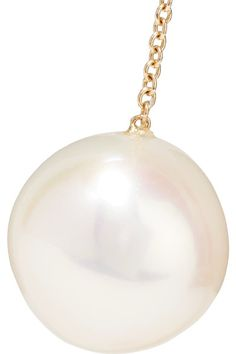 Delfina Delettrez - 18-karat Gold And Silver-tone Pearl And Diamond Earring - one size