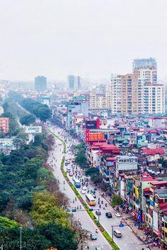 Kim Ma Road - Hanoi, Vietnam Vietnam Cruise, Le Vietnam, North Vietnam, Photography Camera, Travel Photography, Travel Around The World, Around The Worlds, Beautiful Vietnam, Virtual Travel