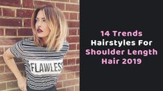 12 Trends Hairstyles For Shoulder Length Hair 2019 – Hair Styles Hairdos For Short Hair, New Short Hairstyles, Haircut For Thick Hair, Short Hair Styles, Hairstyles Haircuts, Short Layered Bob Haircuts, Stacked Bob Hairstyles, Wavy Haircuts, One Length Hair
