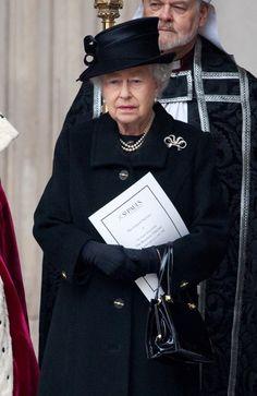 Queen Elizabeth II Photo - Ceremonial Funeral Services for Margaret Thatcher