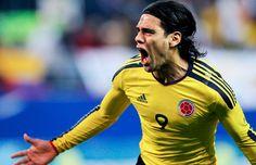 """Una de las celebraciones de Gol de nuestro """"Tigre"""" @Falcao García"""