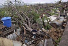 Catastrophic flooding as Sandy plows into coast - Weather   NBC News Tree fell on a house after hurricane Sandy hit Santiago De Cuba Thursday