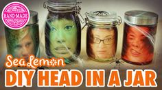 Heads up! Today Sea Lemon shows us a DIY head in a jar! Try these with your friends and family for creepy fun Halloween decor! Get more from Sea Lemon at: ht...
