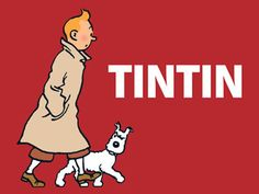 Tintin / snowy's expression = perfect