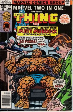 Marvel TwoinOne 1974 1st Series 37  March 1978 by ViewObscura, $1.00