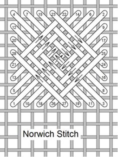 Needlelace - Stitch of the Month January